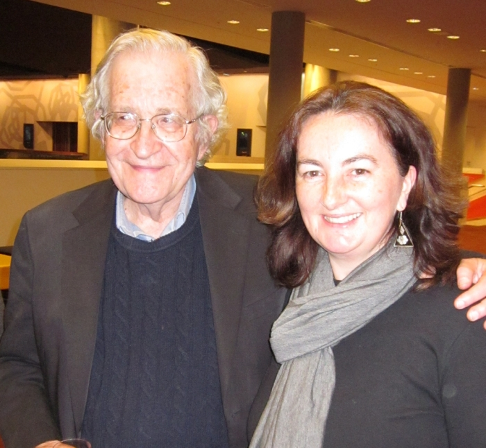 Noam Chomsky and Margaret Ryan